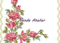wild roses runner crossstitch pattern