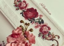 red roses crossstitch pattern